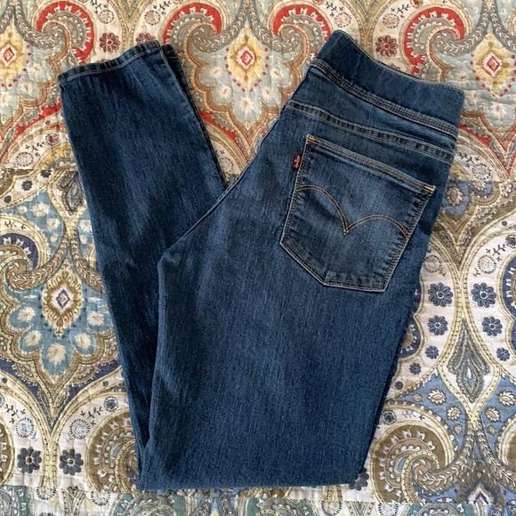 Levi's jeggings Blue jeans 8